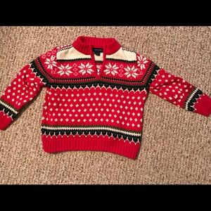 3T boy's Land's End sweater